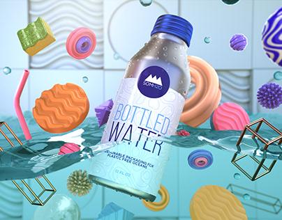 3D Bottled Water