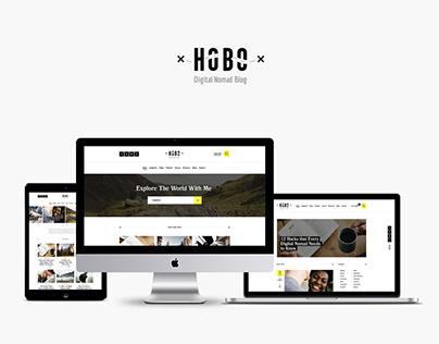Digital Nomad Lifestyle Blog WordPress Theme