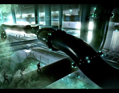 Gaming Digital Paintings (Sci Fi)