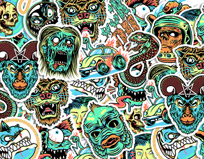 Sticker Illustration