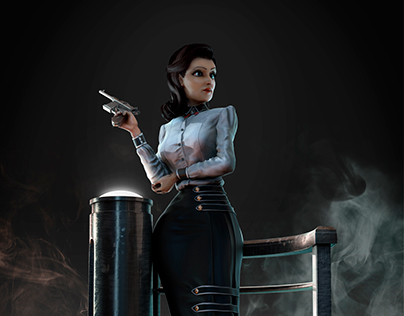 Elizabeth from Bioshock Infinite fan art