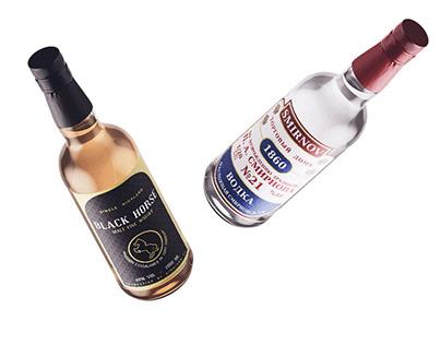 Alcohol Drinks Rebranding