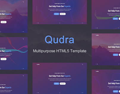 Qudra - Multipurpose HTML5 Template