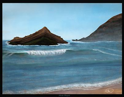 digital painting - Landscape