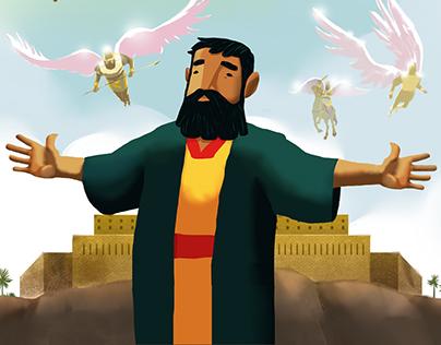 Wow, God: Elisha and God's Heavenly Army Storybook