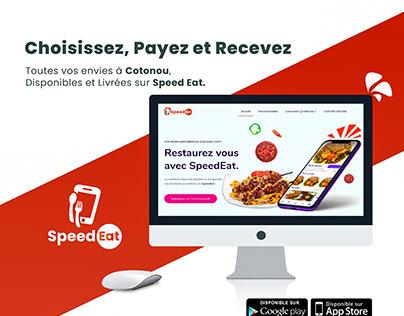 UI and Web Development | Speed Eat Cotonou