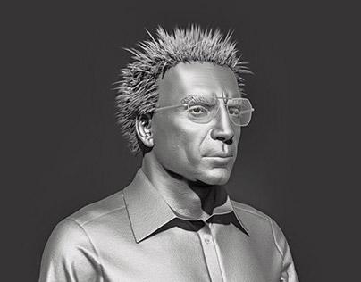 Javier Bardem Bust