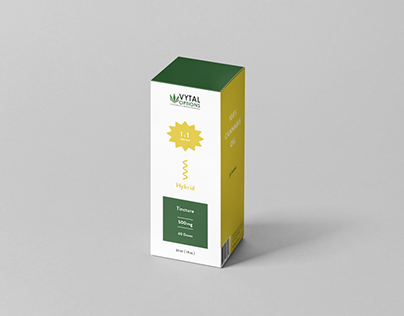 Cannabis Package Design Matrix Concept 02