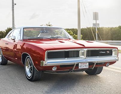 Dodge charger 1969 - corona render