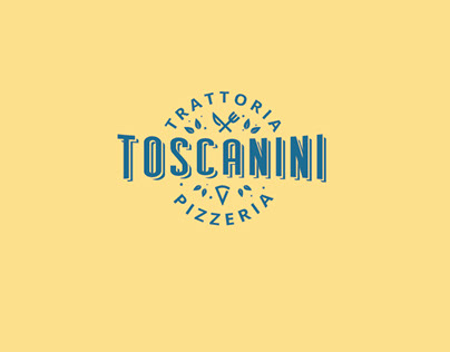 Italian Restaurant Toscanini Branding
