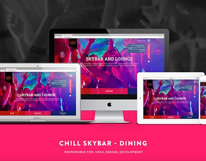 Chill Skybar - Dining Website