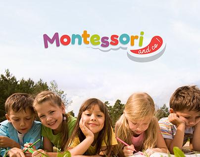 Logotype Montessori & Co
