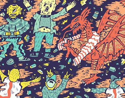 Vice Sports illustrations