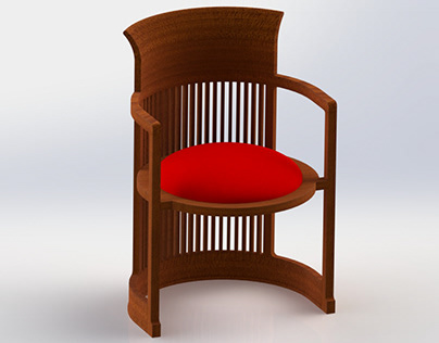 Barrel Taliesin Chair