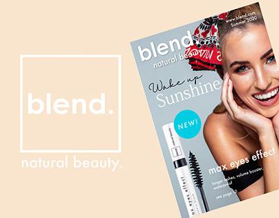 Blend Make-Up Branding