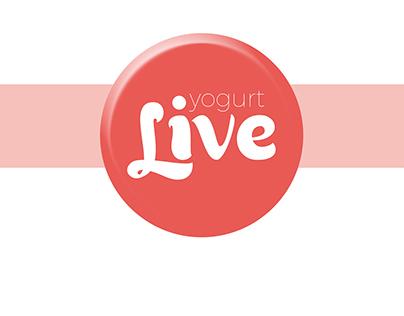 yogurt live: es la marca de un yogurt libre de calorias
