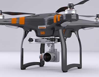 Arnold Render Drone.