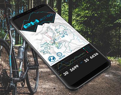 Mountain Bike Course Map