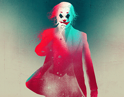 """Joker"" movie posters."