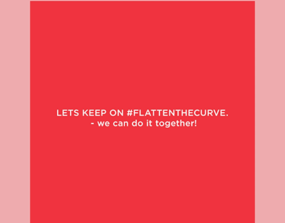 flatten the curve animation