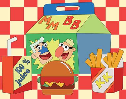 Mermaid Man and Barnacle Boy- SpongeBob SquarePants