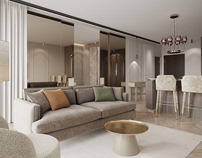 Visualizations of a fancy apartment