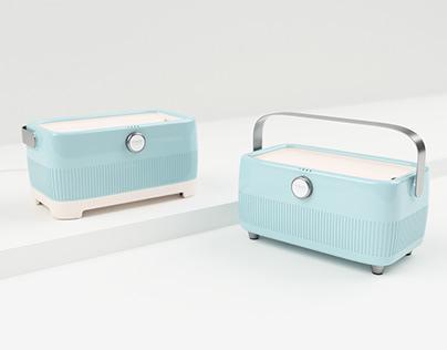 smeg portable speaker