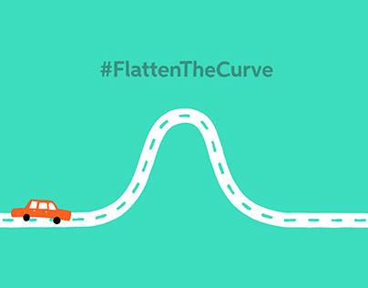 #FlattenTheCurve Animation