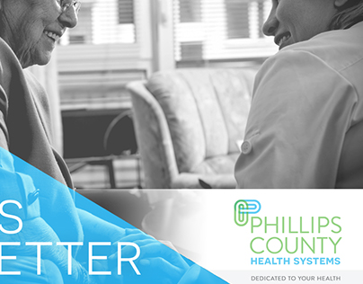 Phillips County Health Systems Branding