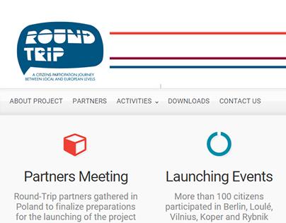 Round-Trip Website