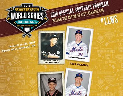 2018 Little League Baseball World Series Program