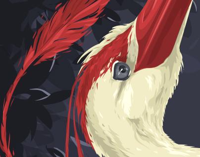 Art print - Heron