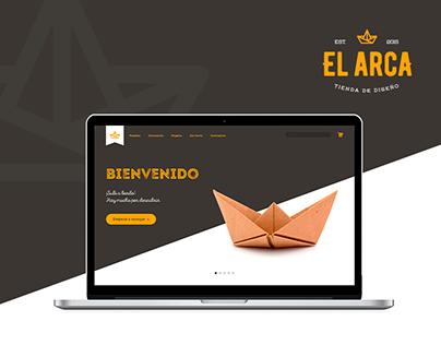 El Arca - Brand + Web design