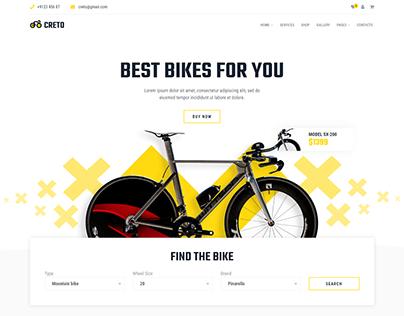 Creto | eCommerce HTML Template