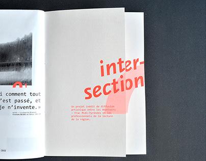 Intersection — dépliant 2 volets + poster