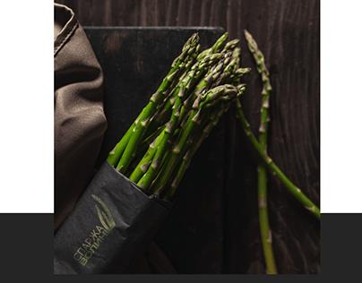 Asparagus of Volyn: branding