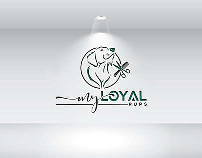 Pet Salon Logo Design