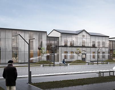 Modernization of railway station in Dopiewo / Poznan