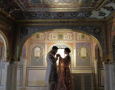Isha & Jas Destination Wedding Film in Jaipur
