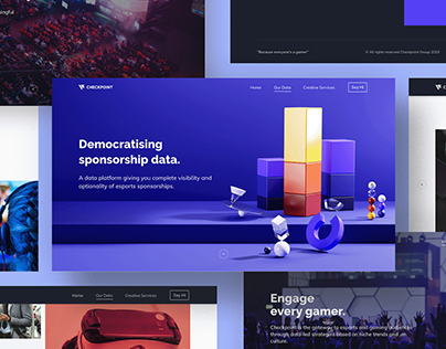 Checkpoint Marketing Site Redesign