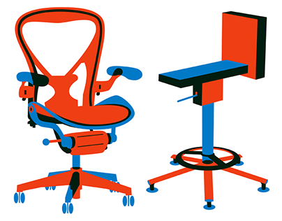 Chairs (illustrations).