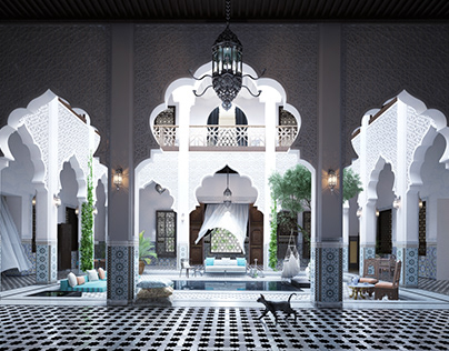 The Moroccan Mansion.