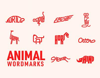 Animal Wordmarks