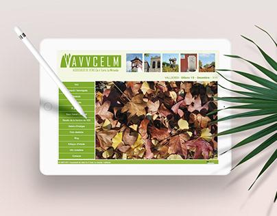 Diseño de logo, papelería comercial y web para Avvcelm.