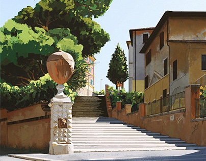 Painting my Rome