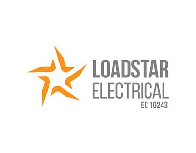Loadstar Electrical Logo Design