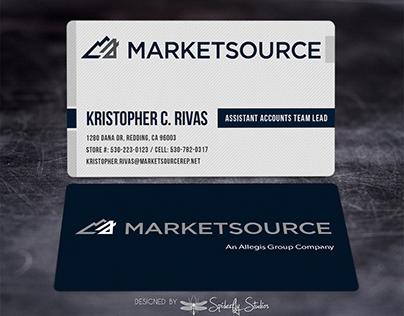 MarketSource Business Cards