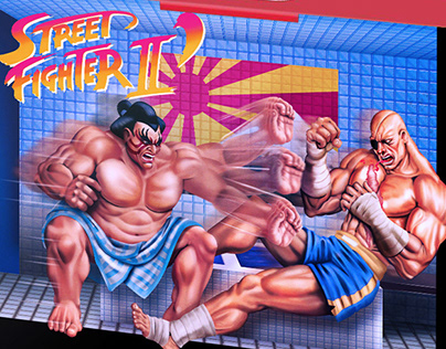 Street Fighter Ilustración