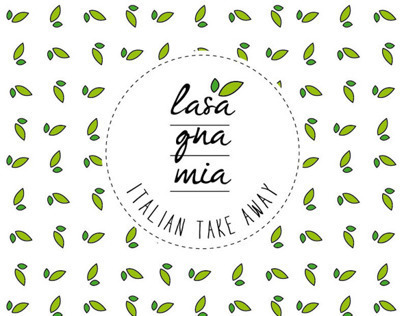 LASAGNA MIA | Brand Identity | Bogotà
