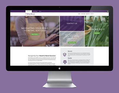 TRUNO Website Design
